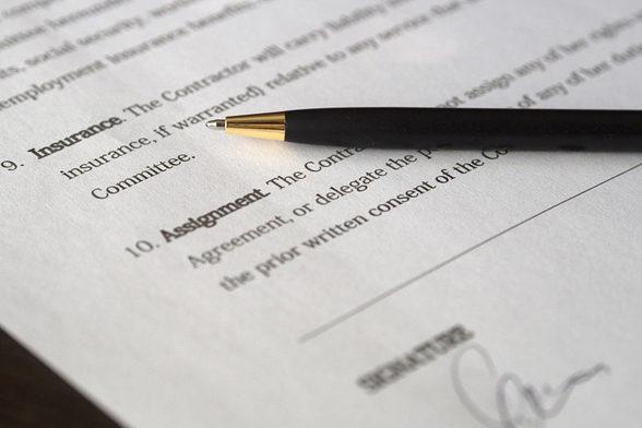 заключение международных контрактов